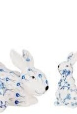 Enchanted Home Blue & White Bunnies