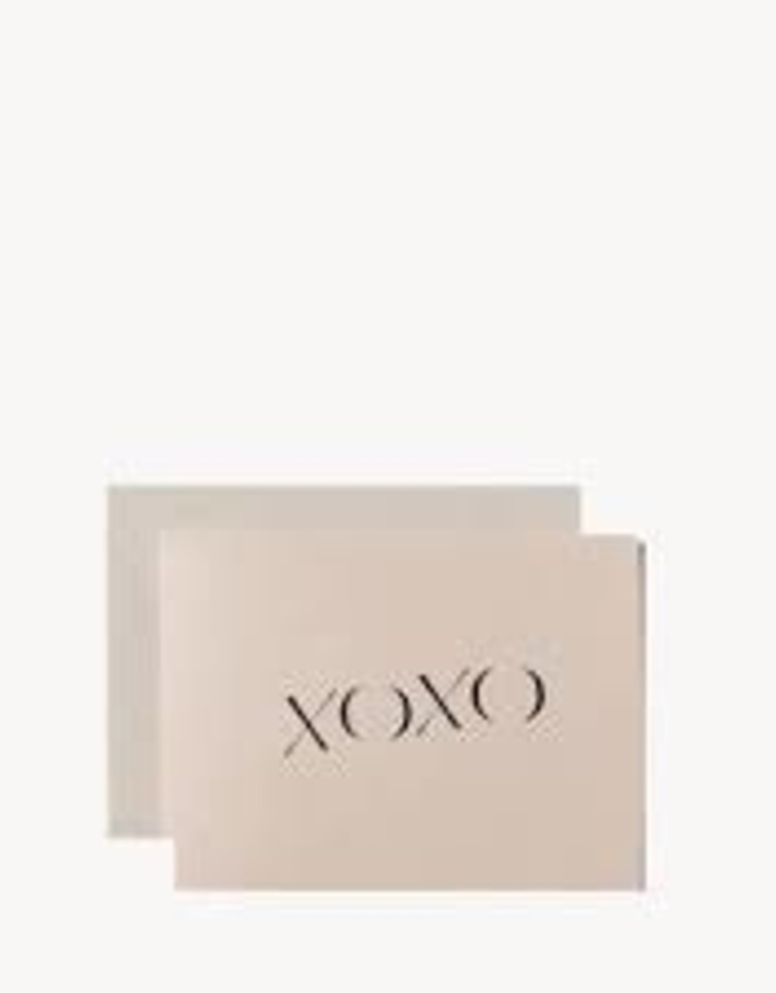 Wilde House Paper XOXO Card