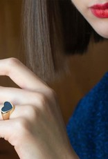 Kris Nations Heart Enamel Ring