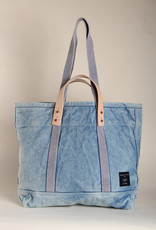 Immodest Cotton Acid Wash Tote - Small