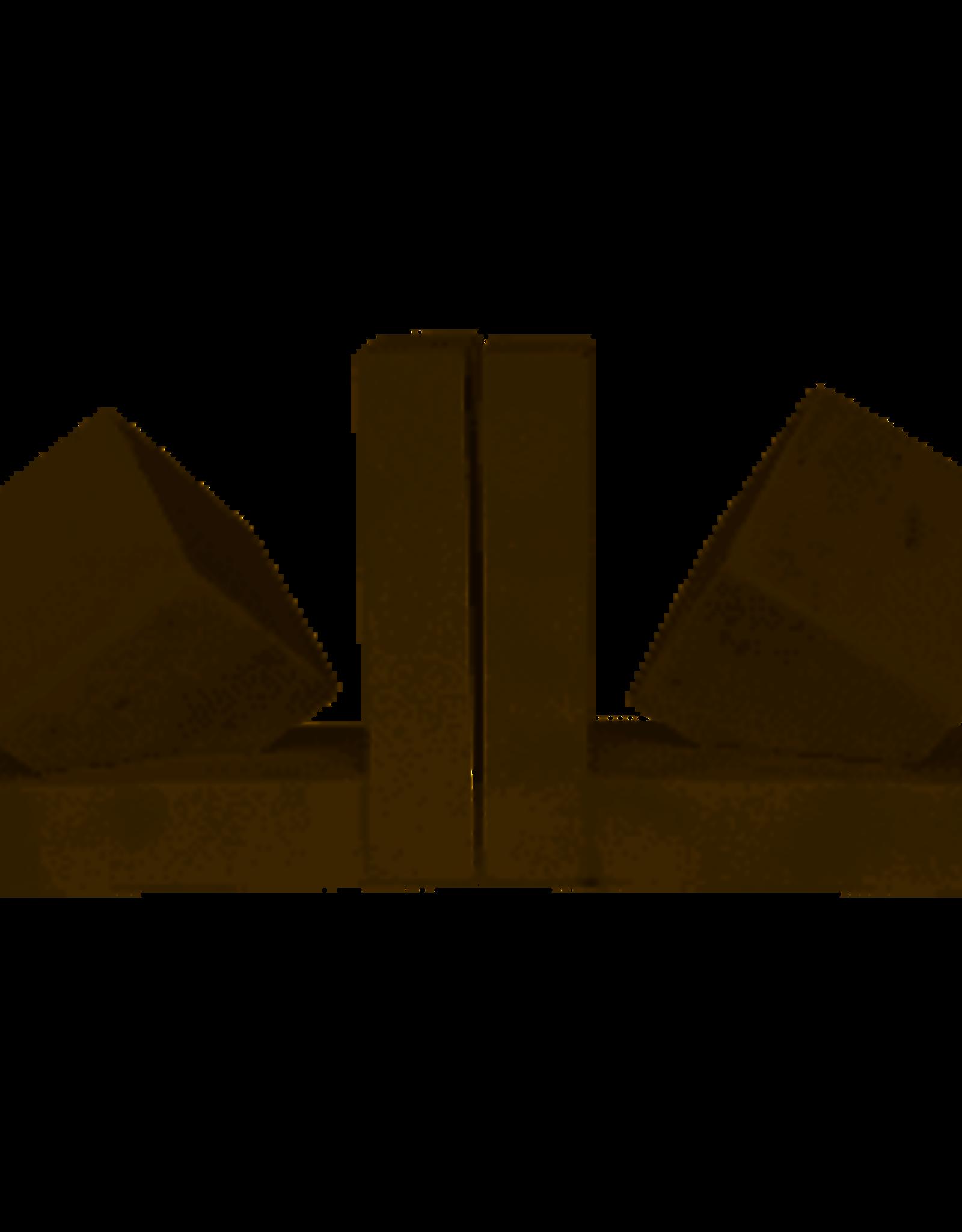 Noir Cube Bookends