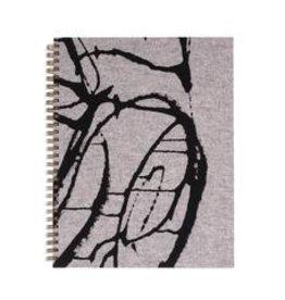 Moglea Handpainted Workbook Blipblop grey