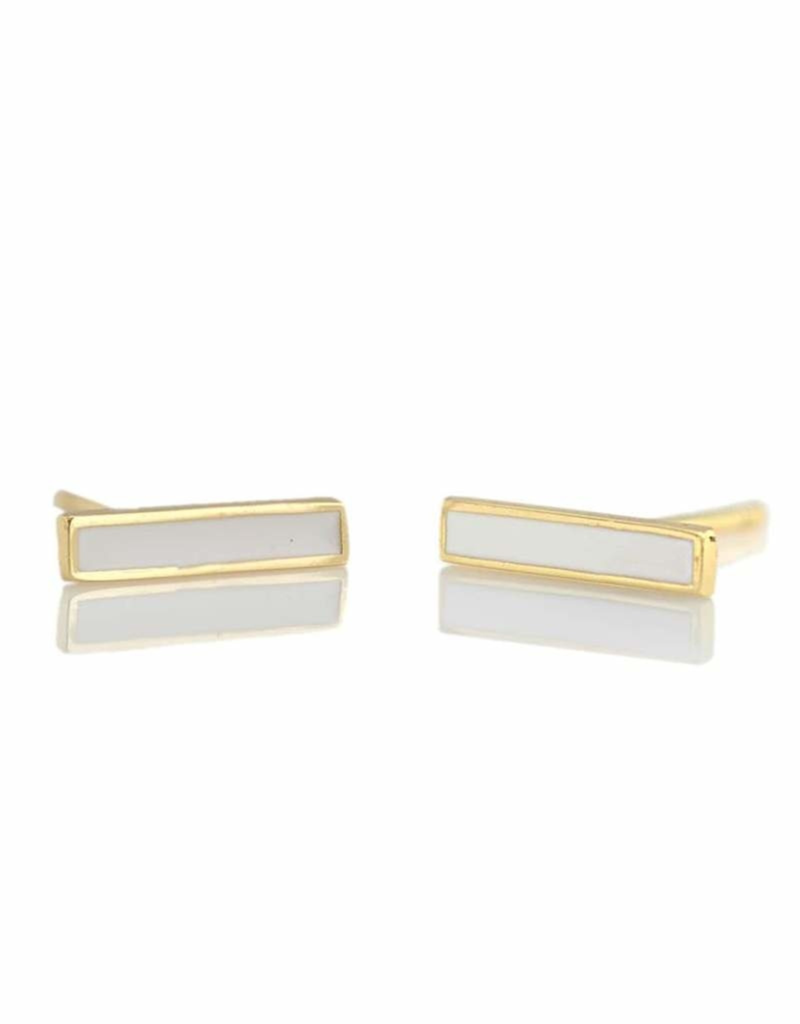 Kris Nations Bar Enamel Earrings