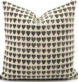 Bryar Wolf Heart Pillow 20x20