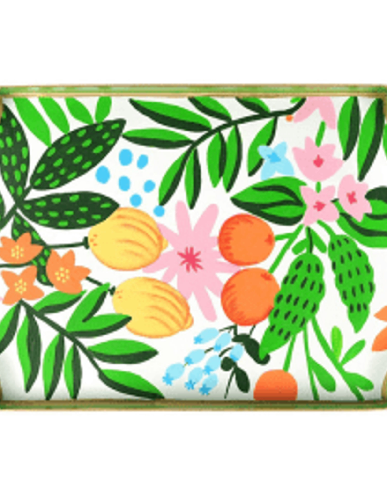 Jaye's Studio Floral Fruit Serving Tray