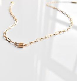 Thatch Jewelry Jessa Lock Necklace