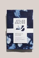 Atelier Saucier Tie Dye Linen Napkins S/4