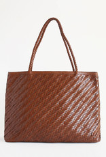 Gabrielle Woven Leather Bag