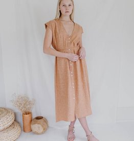Esby Winnie Dress - Vintage Brick