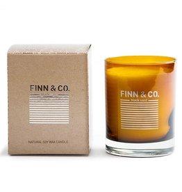 Finn & Co Black Sand Candle