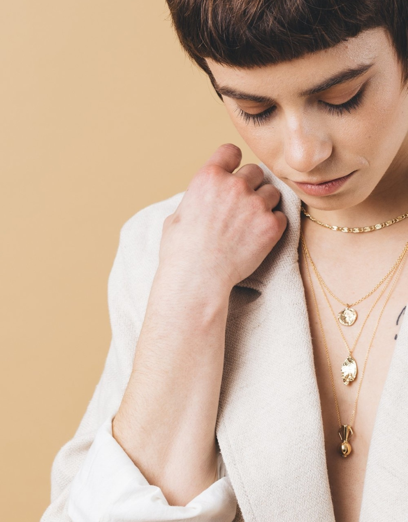 I Like It Here Club Cousteau Necklace - Gold