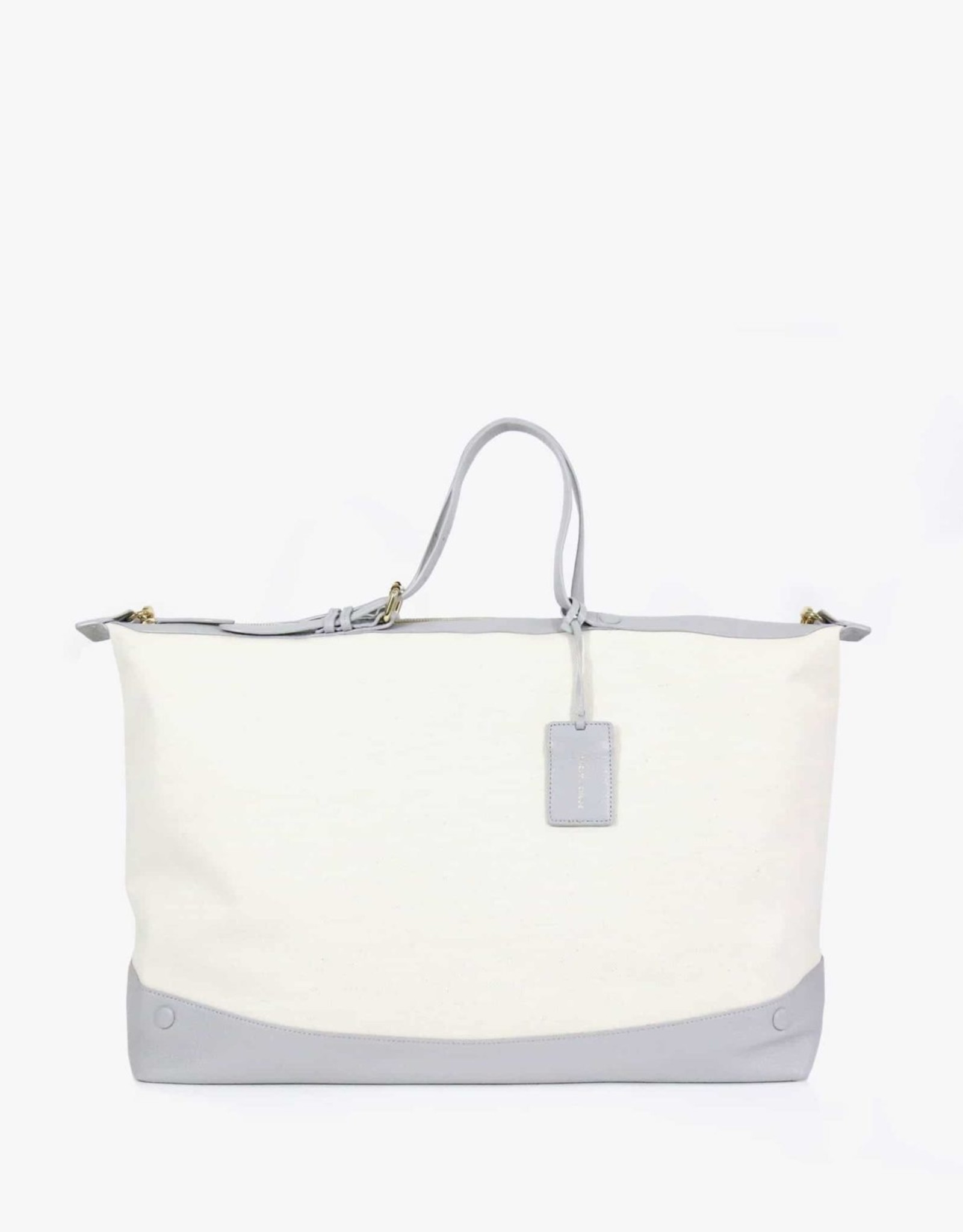 Neely & Chloe Canvas/Leather Weekender