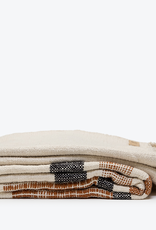 Morrow Soft Goods Como Throw Blanket Rust Black Cream