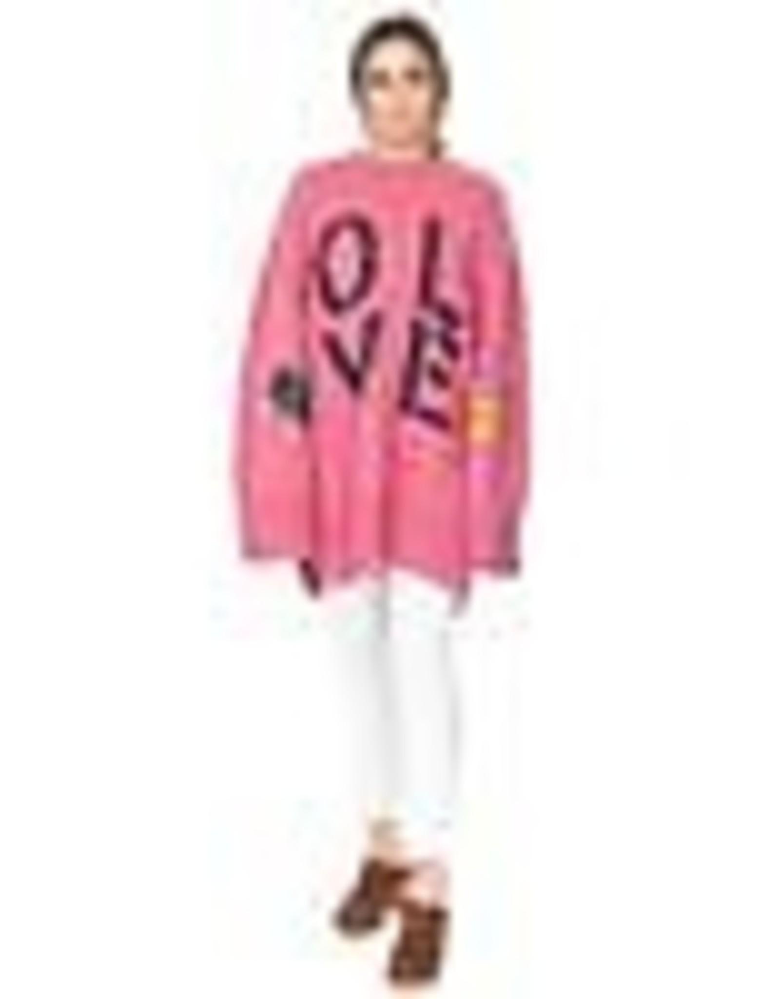 Kerri Rosenthal Maggie Oversized LOVE Tunic