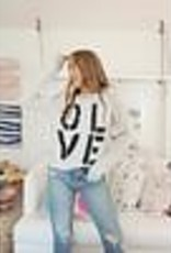 Kerri Rosenthal OLIVE You Sweatshirt