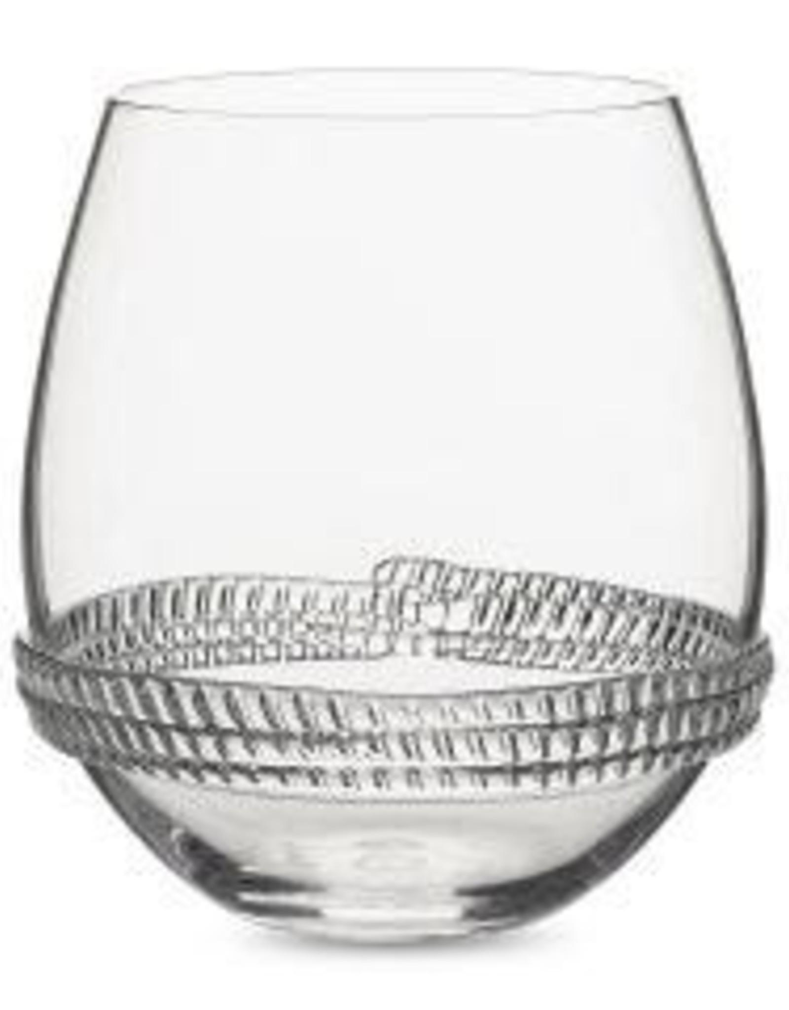 Juliska Dean Stemless Wine Glass
