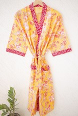 Kari by Kriti Block Printed Robe