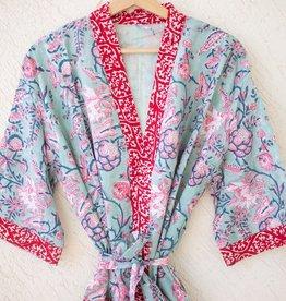 Kari by Kriti Block Printed Robe