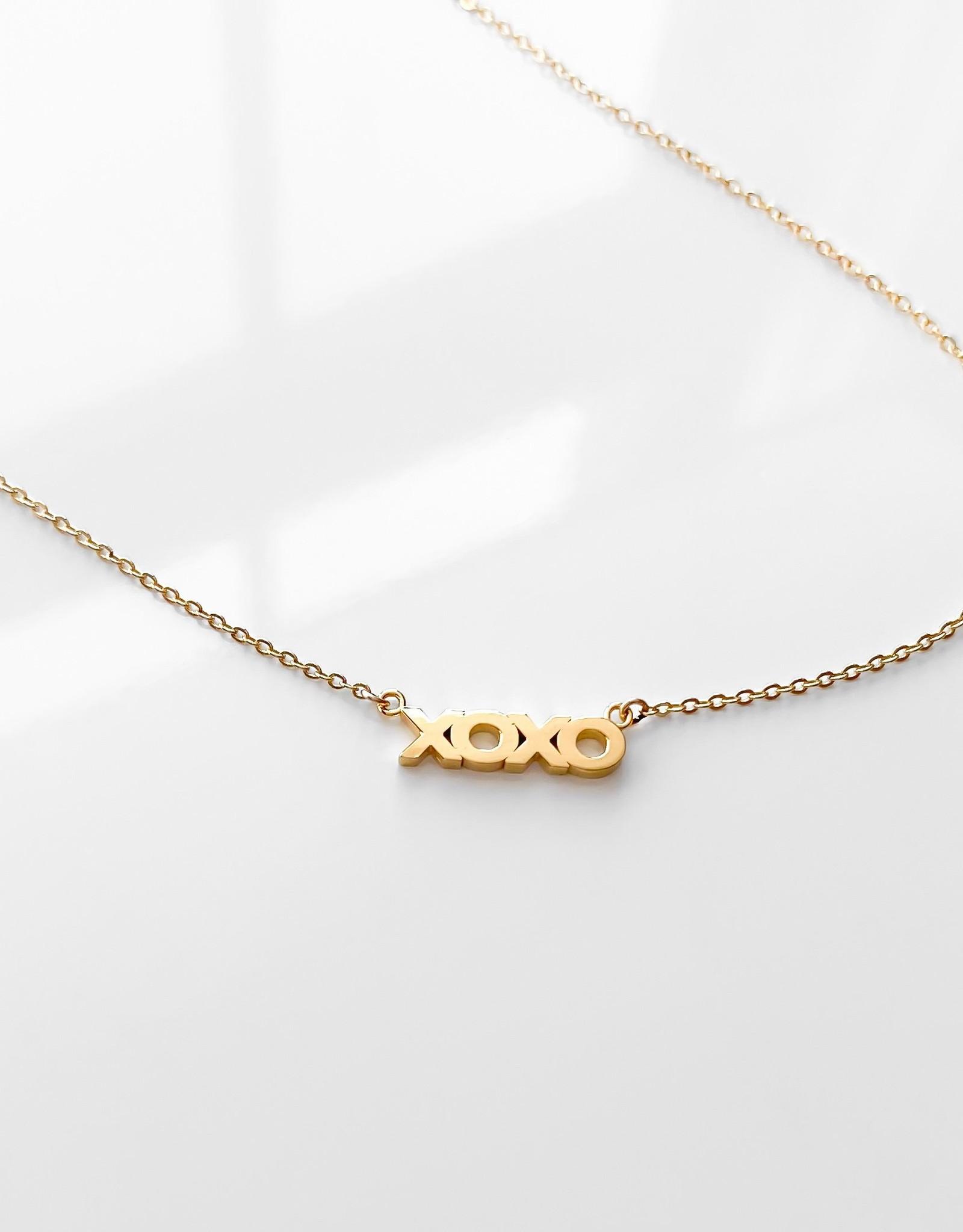 Thatch Jewelry xoxo Necklace
