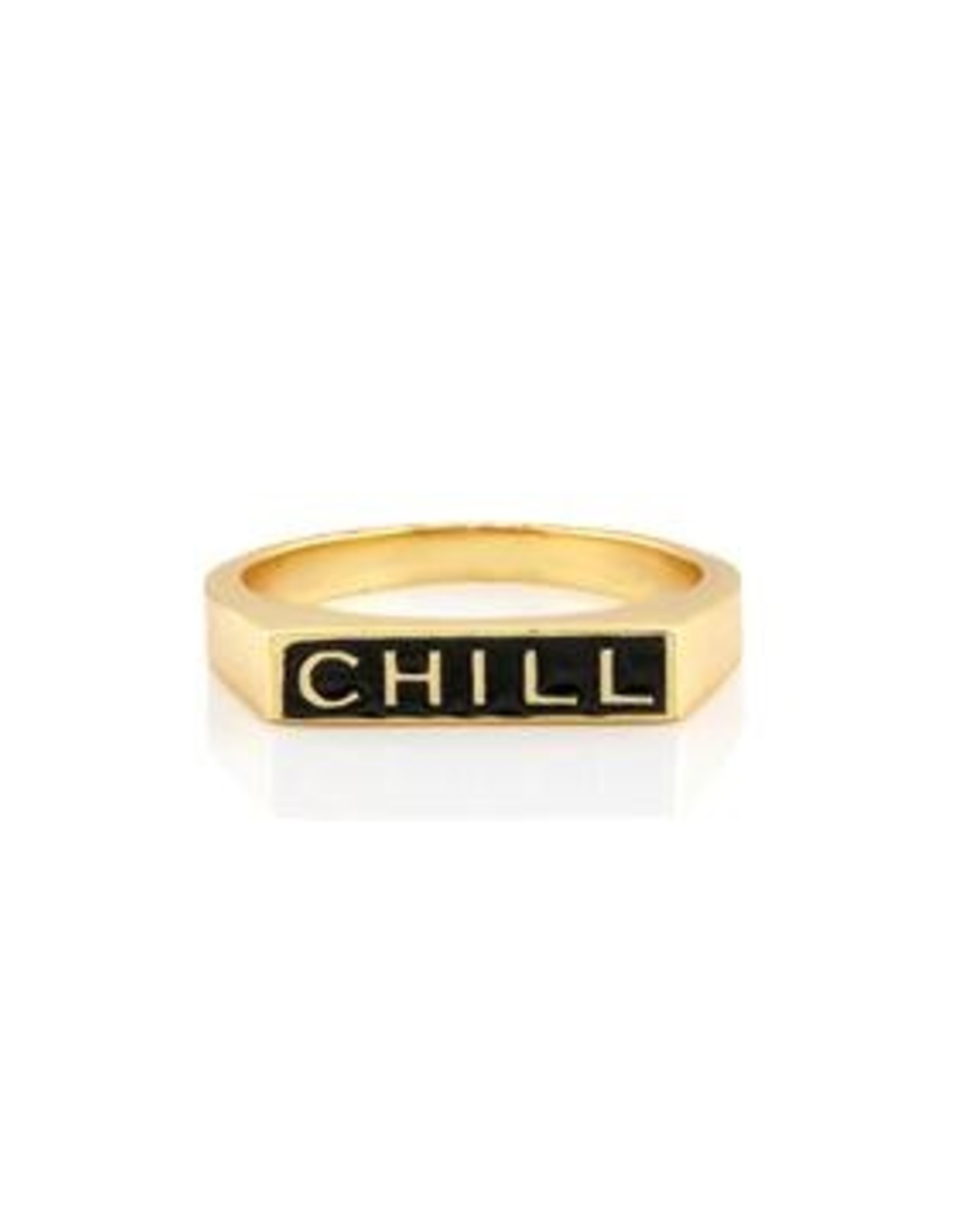 Kris Nations Chill Enamel Ring 7