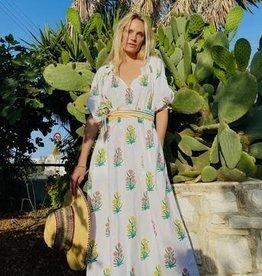 Pink City Prints Positano Dress - Acid Boutique