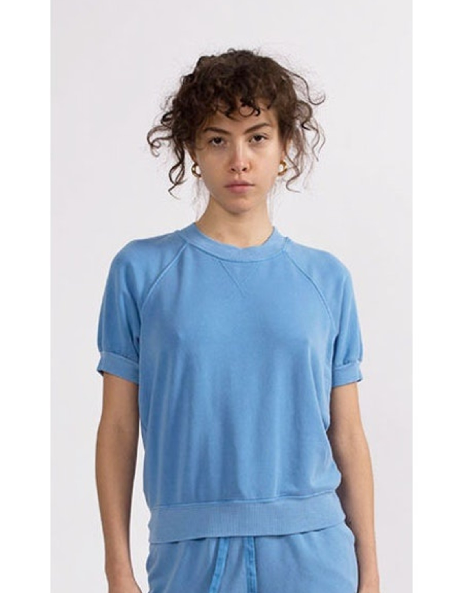 Stateside Fleece Short Sleeve-French Blue