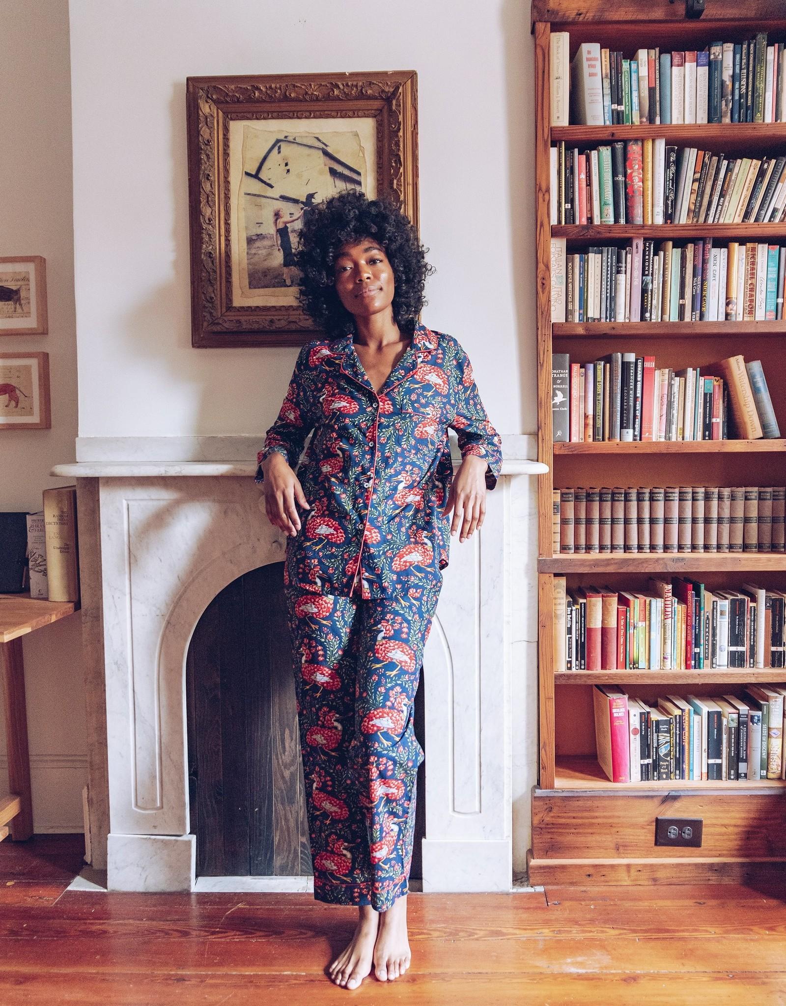 Print Fresh Queen Lotus Long Sleeve PJ