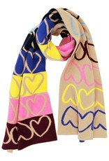 Kerri Rosenthal Imperfect Heart Cashmere Scarf