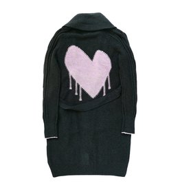 Kerri Rosenthal Drippy Heart Shawl Cardigan