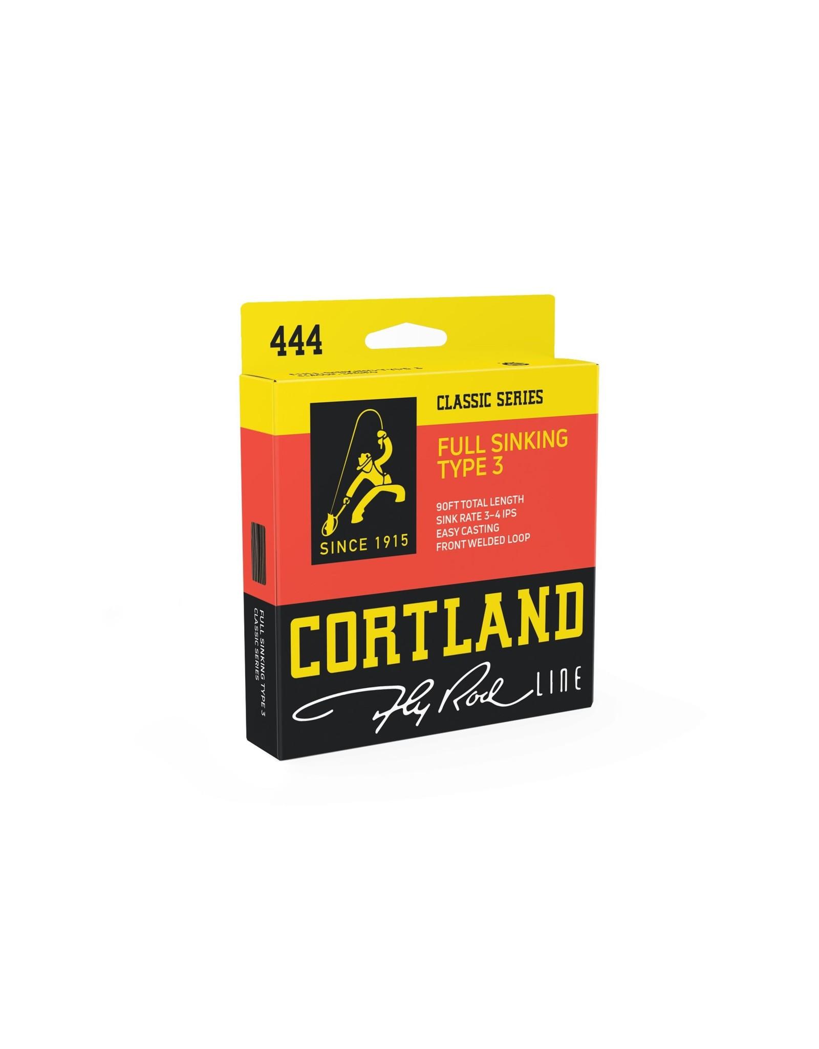 Cortland Line Cortland 444 Classic Full Sinking Type 3 Fly Line