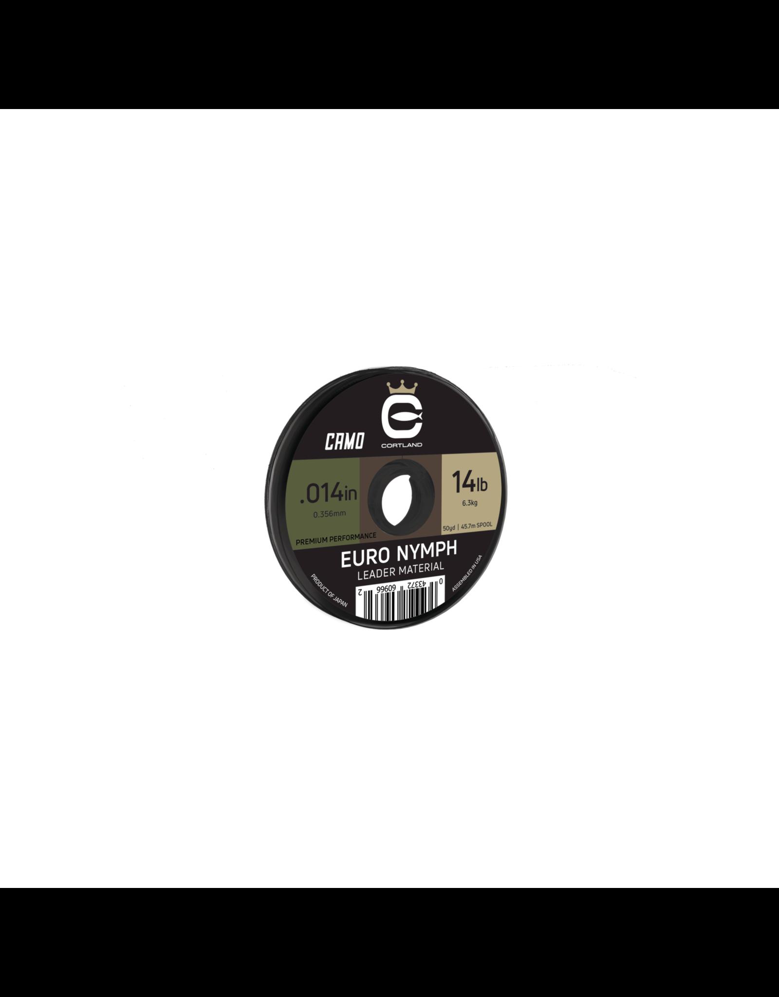 Cortland Line Cortland Euro Nymph Camo Nylon Leader Material