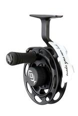 13 Fishing Black Betty Inline Ice Reel 1:1 Gear Ratio - LH+RH Interchangeable