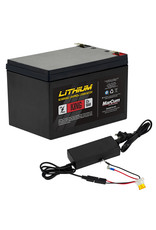 MarCum Technologies MarCum King 12V 18AH LiFePO4  Battery and 6amp Charger