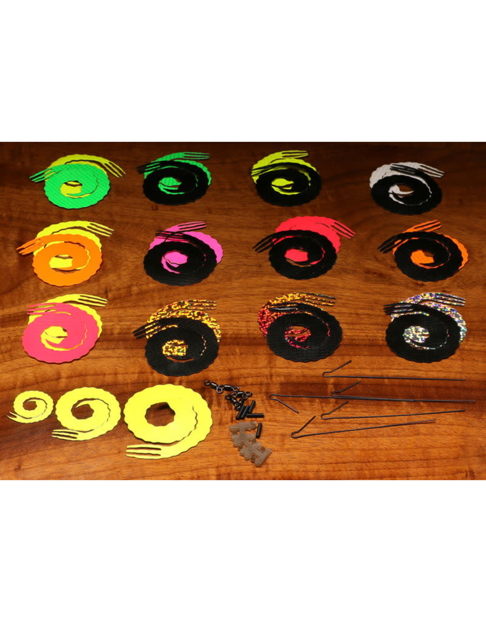 Hareline Dubbin Hareline Big Game Forked Bling Tails