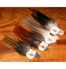 Hareline Dubbin Gallo De Leon Saddle Feathers