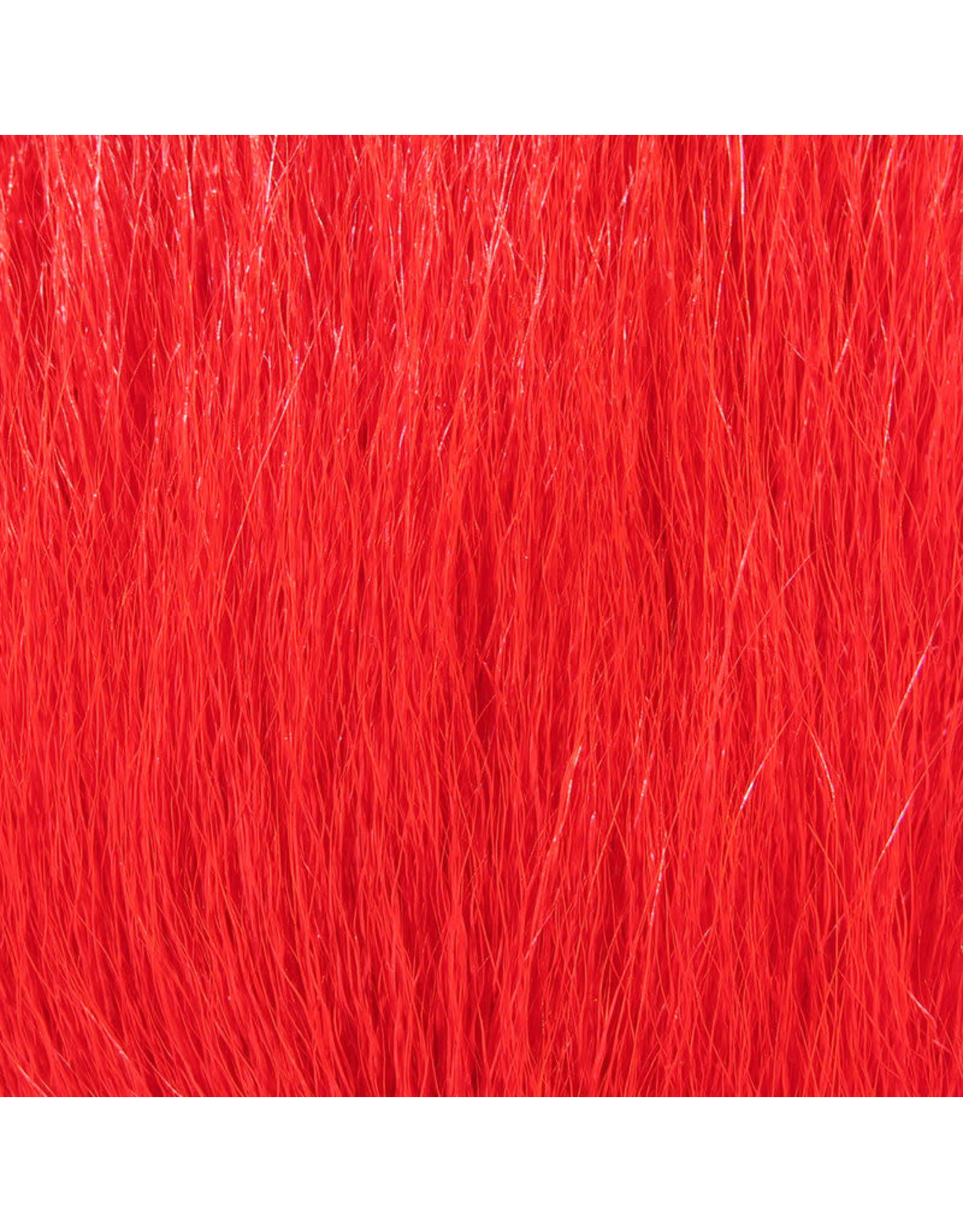 Hareline Dubbin Deer Belly Hair Dyed from White