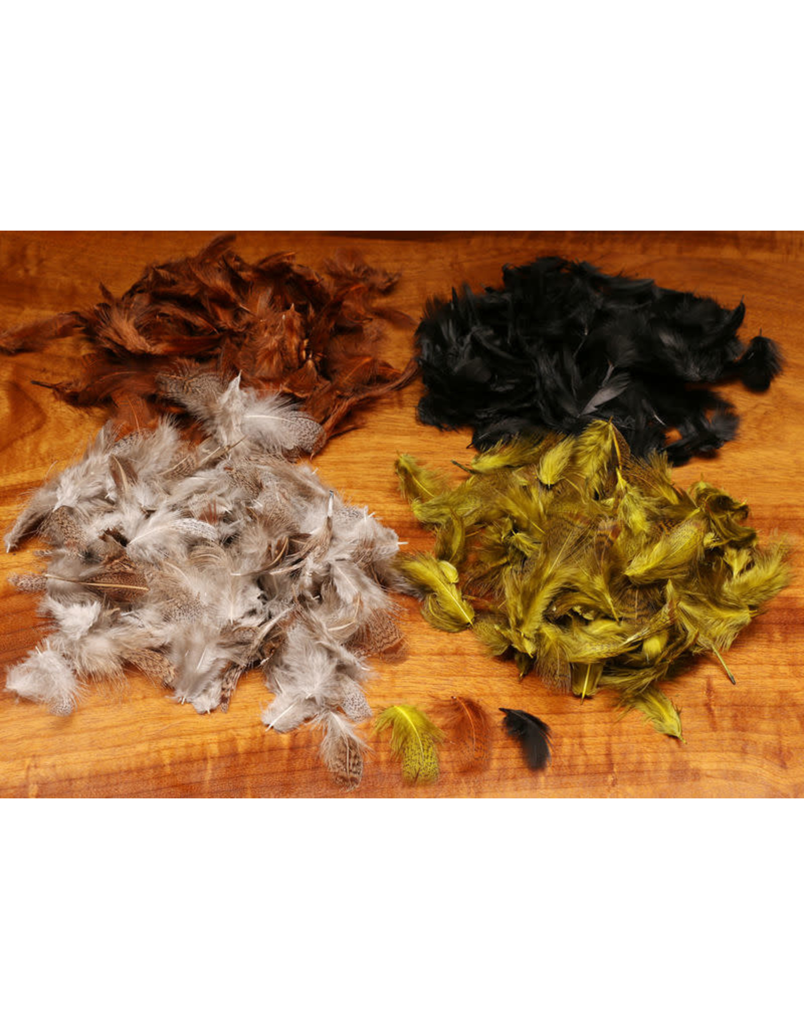 Hareline Dubbin Hungarian Partridge Feathers