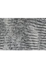 Hareline Fine Black Barred Marabou Feathers