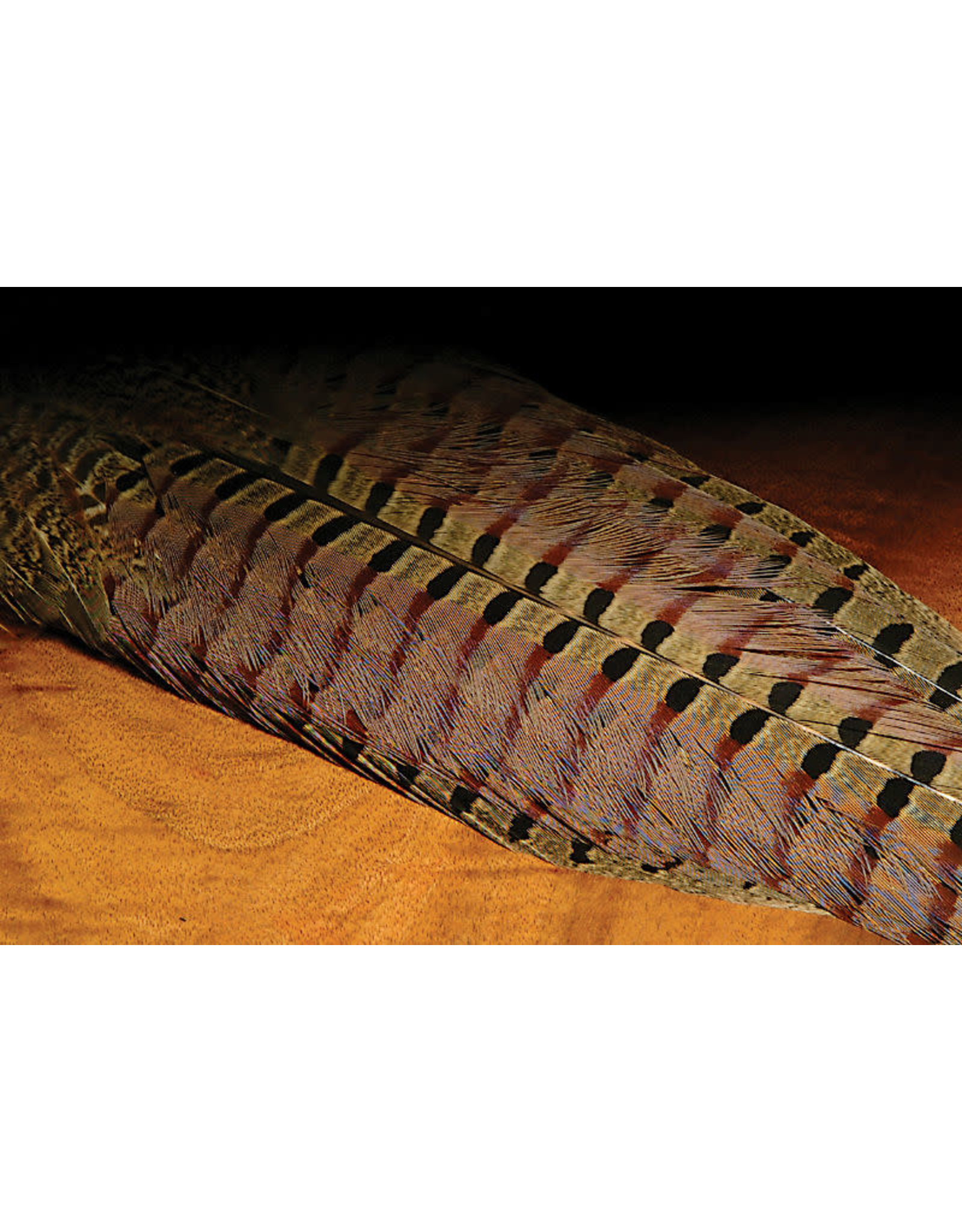 Hareline Dubbin Ringneck Pheasant Complete Tail Clump Natural