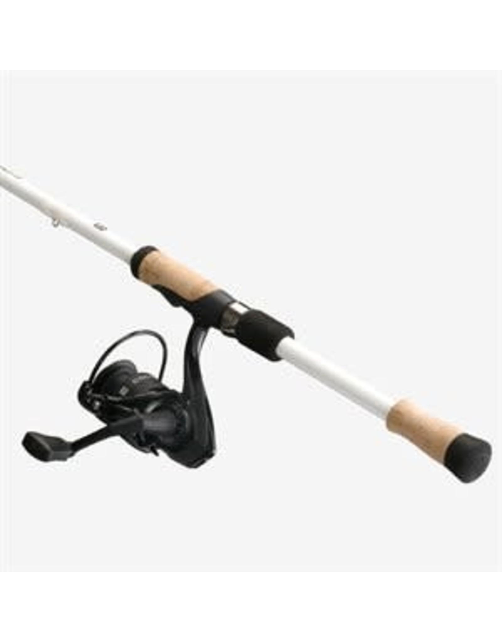 13 Fishing 13 Fishing Code White Spinning Combo