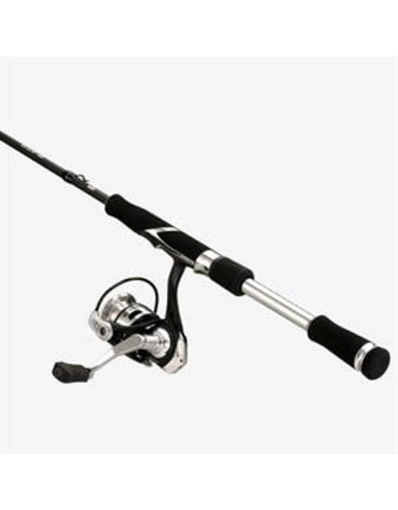 13 Fishing 13 Fishing Fate Chrome/Creed Chrome Spinning Combo