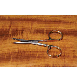 "Dr. Slick Dr. Slick Hair Scissor, 4-1/2"", Gold Loops, Straight"