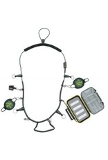 Dr. Slick Dr. Slick Elastic Necklace w/Tippet Spool Caddy, Retractors, Floatant Holder, Waterproof Fly Box
