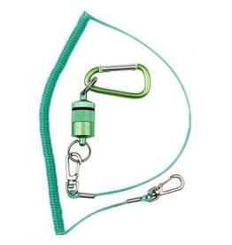 Dr. Slick Dr. Slick Magnetic Net Keeper, Green, w/ Net Bungee Cord