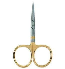 "Dr. Slick Dr. Slick All Purpose Scissor, 4"", Gold Loops, Straight"