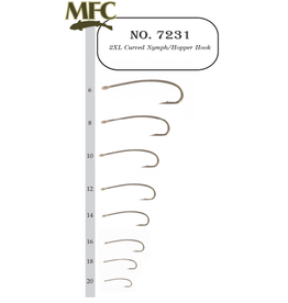 Montana Fly Company MFC 2XL Curved Nymph/Hopper Hook