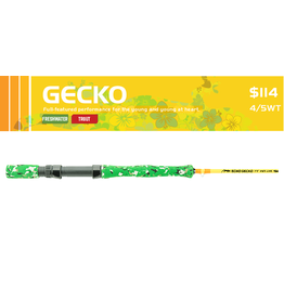 """Echo Echo Gecko 7'9"""" 4/5wt Fly Rod"""