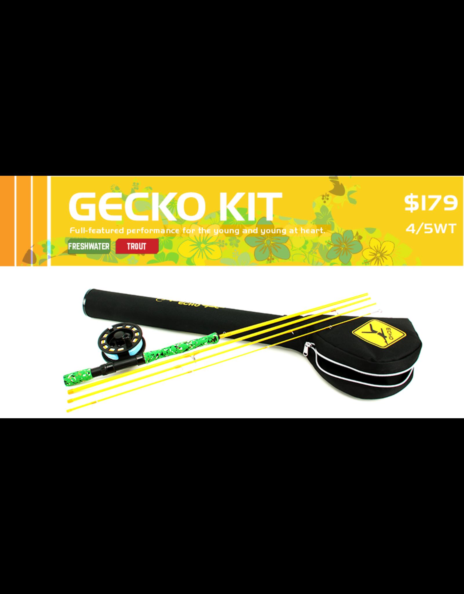 Echo ECHO GECKO #4/5 Kit w/rod, reel and case