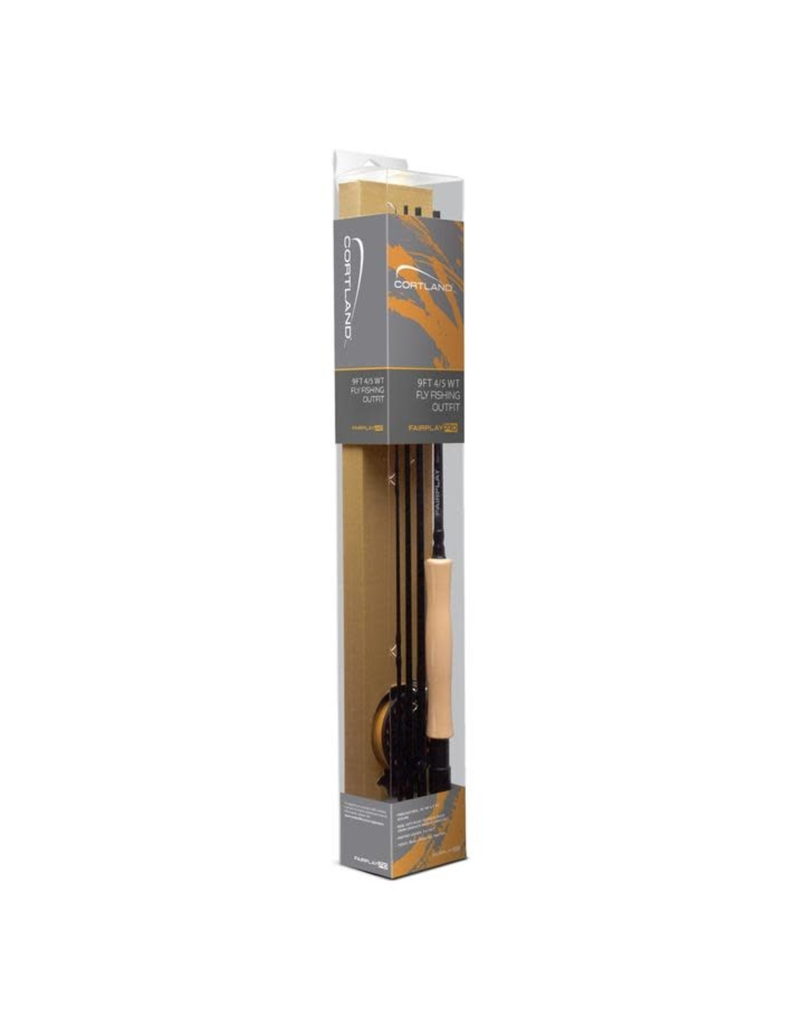 Cortland Line Cortland Fairplay 9FT 4/5 WT Fly Fishing Outfit