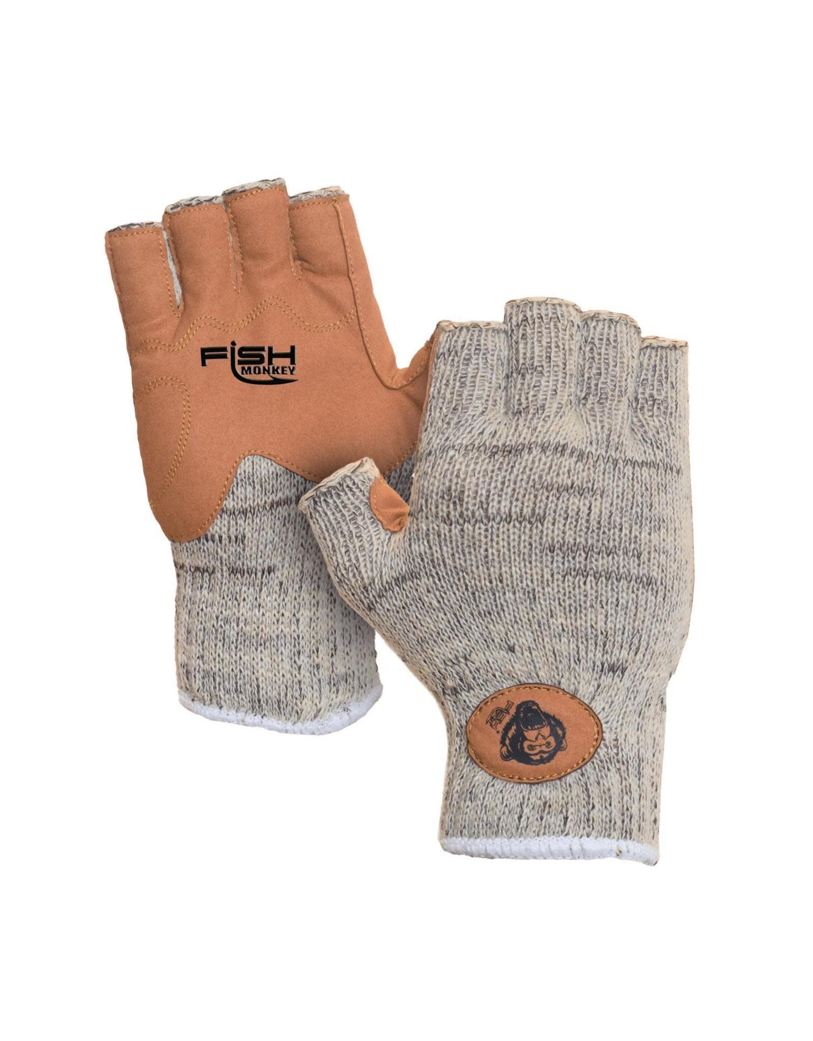 Fish Monkey Fish Monkey Wooly Half Finger Wool Gloves